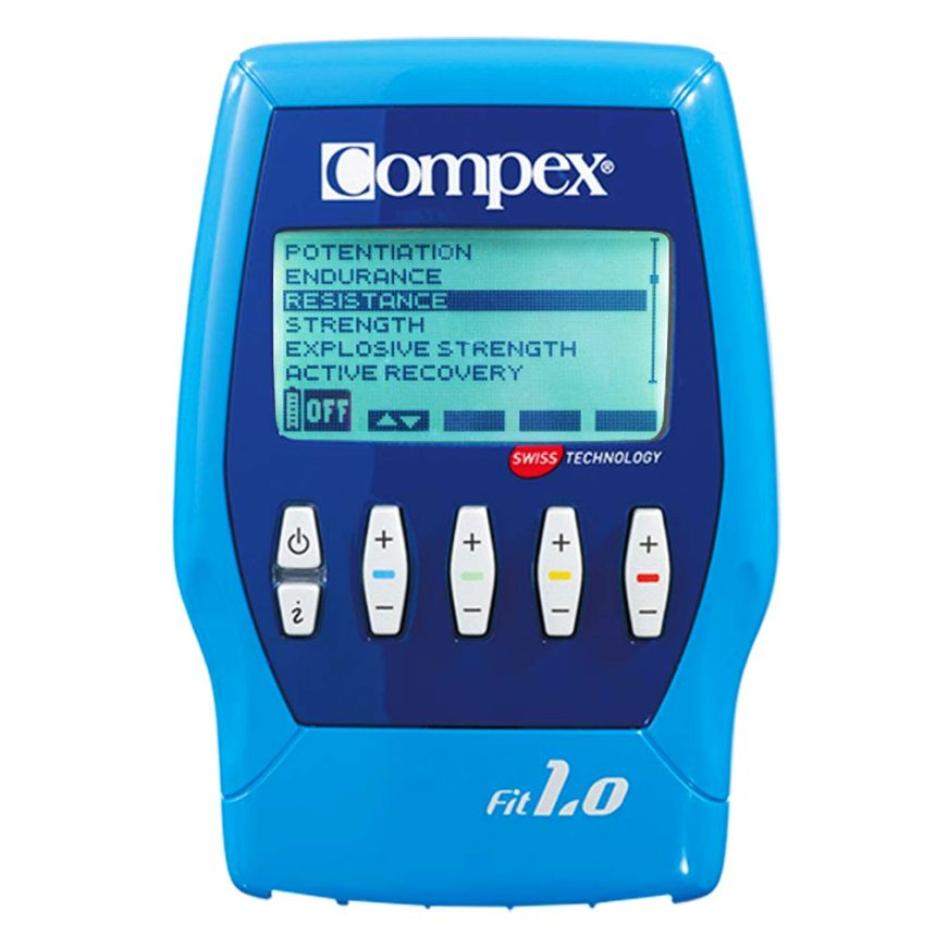 Elettrostimolatore COMPEX FIT 1.0 per fitness e tonificazione braccia, cosce, addome e glutei