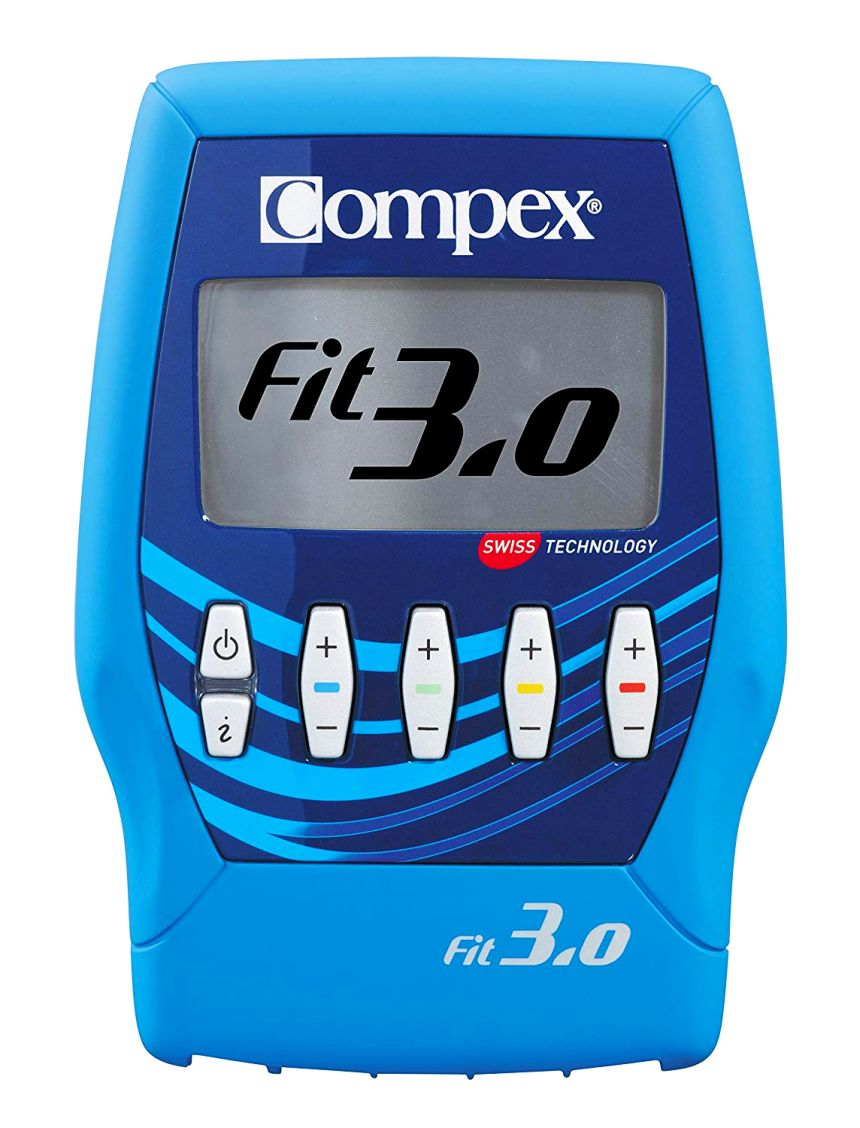 Elettrostimolatore COMPEX FIT 3.0 Muscle Intelligence per fitness, massaggio, riabilitazione, recupero e TENS antidolore