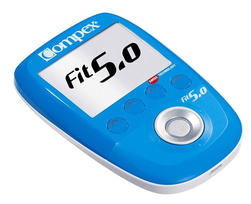L'elettrostimolatore professionale Compex FIT 5.0 dispone di trattamenti per fitness, recupero e massaggio, terapia del dolore, riabilitazione