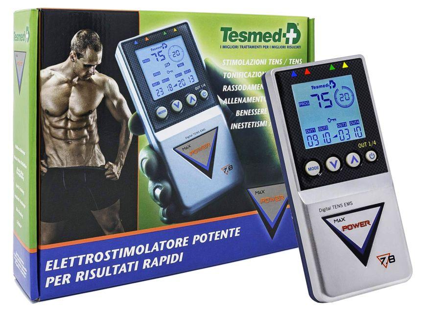 Ecco come vi arriverà a casa l'elettrostimolatore Tesmed MAX 7.8 Power